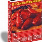 The Ultimate Chicken Wing Cookbook - eBook