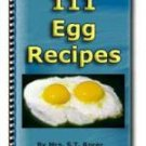 111 EGG Recipes - eBook