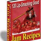 120 Lip-Smacking Good Jam Recipes - eBook