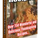 Thanksgiving Recipes - eBook