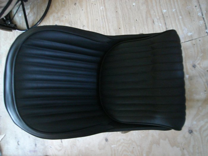 Seats Leather Upholstered Shelby Cobra Rat Rod Pair New