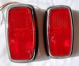 Lights Lamp Tail Rectangular Led Ac Shelby Cobra Replica