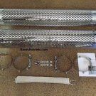 Sidepipes Heat Shields Chrome AC Shelby Cobra Replica Kit Car ACE Side Pipes