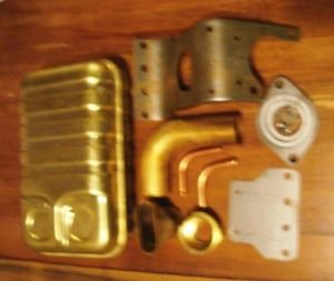 Radiator Overflow Expansion Tank 427FE AC ACE Shelby Cobra Kit Car or Street Rod