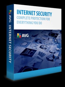 AVG Internet Security 9.0 3 PC's 1 Year