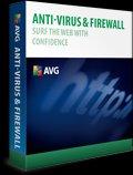 AVG Anti-Virus & Firewall 9.0 1 PC 1 Year
