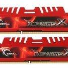 ★NEW★ G.SKILL Ripjaws X Series 8GB (2 x 4GB) DDR3 PC3-17000 2133MHz *1.5V-1.6V* *XMP*