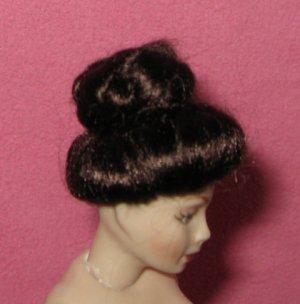 miniature doll house doll wig dollhouse
