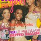 Cosmo Girl Magazine March 2005 Destiny's Child