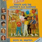 Babysitters Club 24 Kristy And The Mother's Day Surprise