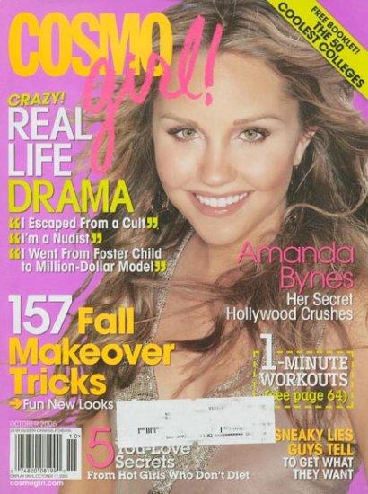 Cosmo Girl Magazine Oct 2005 Amanda Bynes