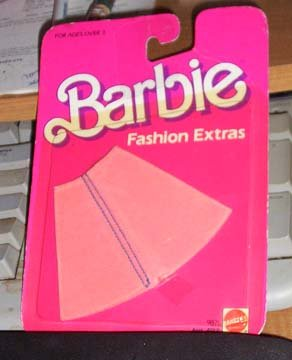 Barbie Fashion Extras #9871 NRFC 1984
