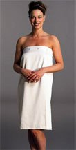 Cypress Microfiber Shower Wrap OSFA Natural Color Only - Only 1 left! L/XL