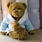 Ted E Bear Robe Periwinkle