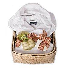 Twinkling Natural Robe/Bath Set