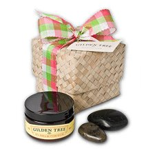 Shea Butter Stone Massage Kit