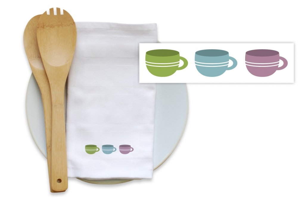 Bamboo Blended Kitchen Towels - Sip of Coffee