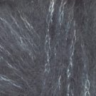 Rico Design Glitz #7 grey  mohair blend yarn - 50 grams
