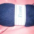 Diamond Yarn Tempo Chunky #848 acrylic wool navy blue yarn 100grams