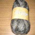 Nova Vertigo #02 grey/black mohair fancy yarn 50gr
