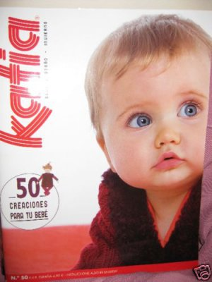 Katia #50 fall winter babies knitting patterns