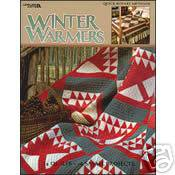 Winter Warmers Quilting Pattern Book