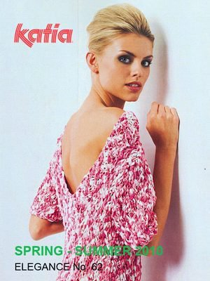 Katia #62 Elegance womans spring knit crochet pattern