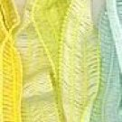 Katia Pinta #11 lime green ribbon cotton blend yarn