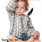 Katia #64 spring/summer babies knitting patterns