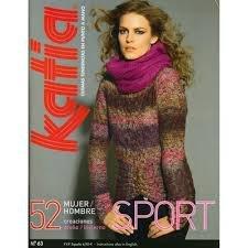 Katia #63 sport knitting pattern book women fall/winter