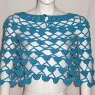 Rampage Cropped Poncho One Size