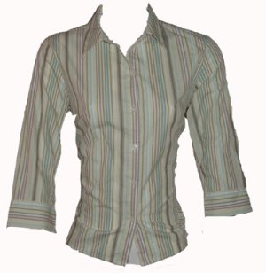 Style & Company Button Down Top Sz 10