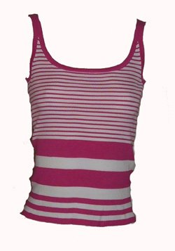Micheal Kors Pink White Top Sz Small