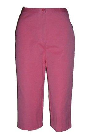 Charter Club Pink Cropped Capris Sz 6