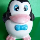 Penguin Ceramic Bank Moneybox Baby Gift Vintage New