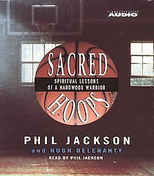 Phil Jackson CD Sacred Hoops audiobook L.A. Lakers NEW $8.99  FREE S/H