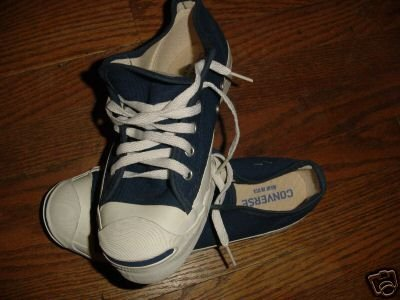 Vintage Converse Jack Purcell lo-top Chuck Taylor USA ~ FREE SHIPPING
