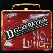 D Generation CD No Lunch jesse malin ALAN VEGA the cars  $7.99 ~ FREE SHIPPING