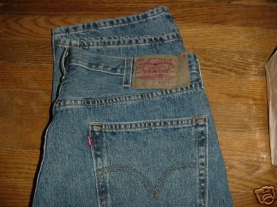 Levis 501 jeans 38 x 30 levi's mens MINT button fly ~ FREE SHIPPING
