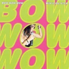 Bow Wow Wow CD Wild in the USA $7.99 ~ FREE SHIPPING live 80s new wave