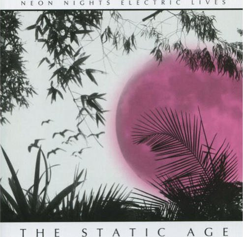 THE STATIC AGE cd NEON NIGHTS ELECTRIC LIVES $7.99 ~ FREE SHIPPING