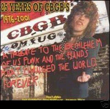 VA:  25 years of CBGB's ~ FREE SHIPPING~ $8.99 patti smith sexgang children