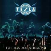 Tesla CD Five Man Acoustic Jam ~ FREE SHIPPING~ $8.99