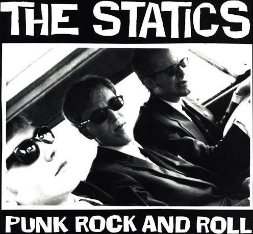 The Statics CD Punk Rock and Roll ~ FREE SHIPPING~ $9.99 RIP OFF RECORDS