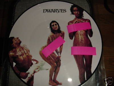 The Dwarves Lp Blood Guts and Pussy RARE original Ltd Ed Picture Disc #1500 of 1500