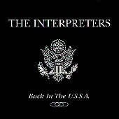 The Interpreters CD  ~ FREE SHIPPING~ $12.99 Back in the U.S.S.A. MOD PUNK perfection oop