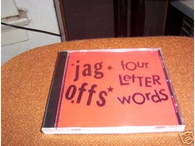 The Jag Offs / Four Letter Words CD ~ FREE SHIPPING~ $8.99