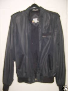 Vintage Members Only Jacket 42L (XL) Black FREE SHIPPING~ $19.99 ~