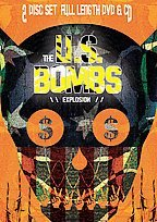 FREE SHIPPING~ $9.99 ~ U.S. Bombs CD / DVD Explosion Duane Peters & the Huns US Oi!