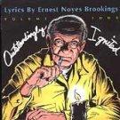 FREE S&H~ $9.99 ~ Outstandingly Ignited CD Lyrics By Ernest Noyes Brookings, Vol. 4 w/ Ben Vaughn ++